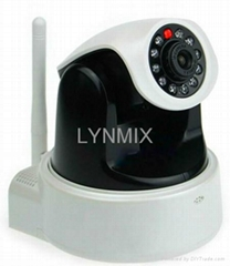Megapixel Wireless P2P IP surveillance Camera, Smart Phone surveillance wireless