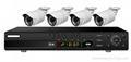 IP Surveillance Kit 4/CH Economical and
