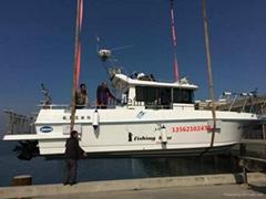 豪华钓鱼船