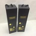 Black Single Bottle Wine Box Flat Pack