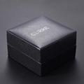 Pinhole Leatherette Jewelry Watch Box