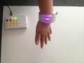 Slap Wristband Bracelet with Remote