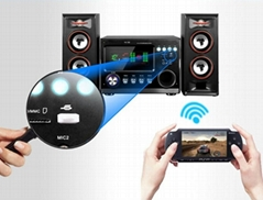 USB Bluetooth music receiver for cars
