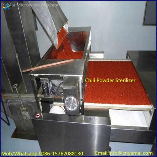 Conveyor Belt Microwave Spice Drying Sterilizing Machine 5