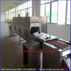 Electic Microwave Conveyor Roasting Machine, Nut Roasting Oven