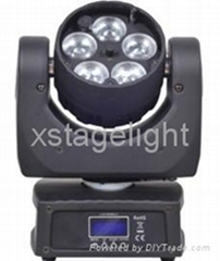 5*12W Zoom LED Wash Lamp Moving Head