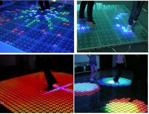 LED dacne floor