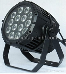 Professional stage equipment 14*18W outdoor par light with best price