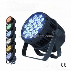 24x18W   LED PAR  RGBWAP 6IN1 Waterproof