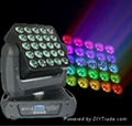 25*15W  Panel  Martrix Led Moving Head Light Disco Stage Lighting