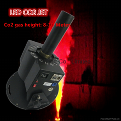 Professional led co2 jet use for stage