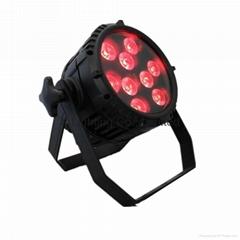 Outdoor Led Stage Light  Multi Color  Battery 9PCS* 15W LED StageLED Par Light
