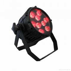 Outdoor RGBWA 5in1 Multi color wireless battery 9PCS* 15W LED stageLED Par light