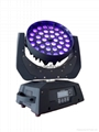 36Pcs 18W  6in1 Wash Led Moving Head