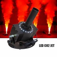 12PCS 3W RGB 3in1 Stage Effect Machine Led Co2 Jet