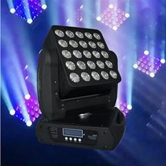 25 PCS克里RGBW四合一15W灯发光二极管无线摇头