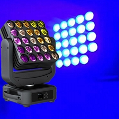Newest Model 25*15W Led Matrix Moving Head Lights For Events