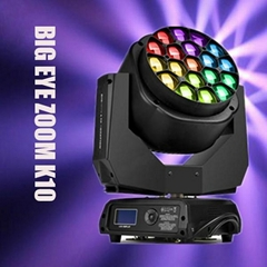 19*15W Bee Eye Led Sign Moving Head Light LED Big Bee Eye Stage Light