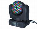 36*3W  Led Beam Moving Head Light LED Stage Lighting