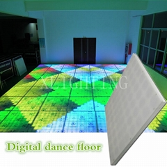 Digital Led Dance Floor  Led Floor Led Stage Lighting(X-L02A)