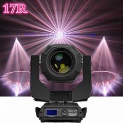 2017 Hot Factory direct sale  RGB 17r Moving Head Lights  spot light