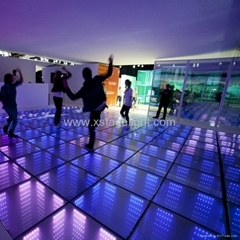 2017 hight quality cheap wholesale magic 3d led dance floor
