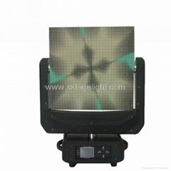 2017 hot sale hight quailty  Moving head led screen