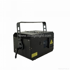 3W RGB Animation laser effect light stage lighting for disco dj club