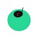 led wireless battery ball