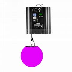 High quality led crystal magic ball light kinetic disco light