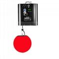 Dmx led lift color ball led lifting ball Moving Disco Ball light