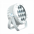 New design china led par can 12pcs rgbaw uv battery light