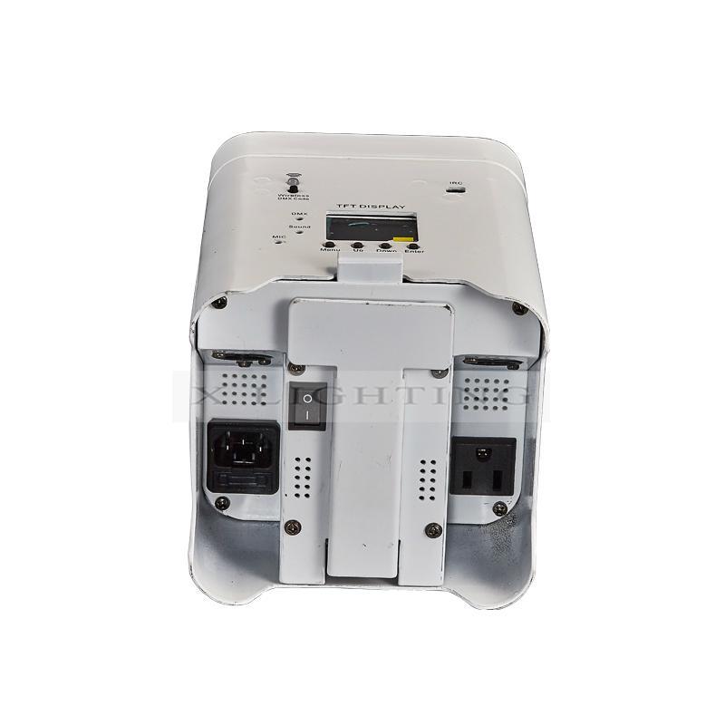 Xlighting 6in1 led wireless battery par light 3