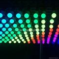 Cheap RGB led kinetic lifting ball light