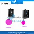2017 new design dmx winch led kinetic lighting/led color ball