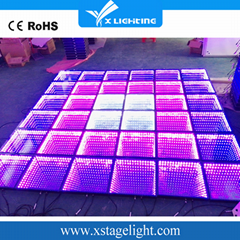 Cheap wholesale portable dmx magic 3d led dance floor for sale