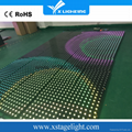 RGB+LED感应舞台地砖