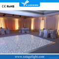 Wedding stage decoration used led dance floor for sale