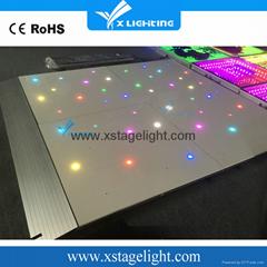 婚禮舞臺裝飾LED星星地板磚