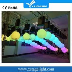 Christmas disco ball winch led kinetic lights