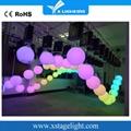 China supplier kinetic lights led sphere crystal balls