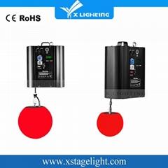 dmx winch led kinetic lighting/led color ball