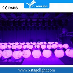 广州全彩舞台灯DMX512 led升降球