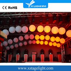 新產品Dmx絞車和動力系統RGB LED起重球