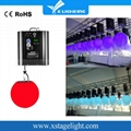 Cheap RGB led kinetic lifting ball light