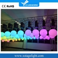 XLIGHTING Best price hanging kinetic led dmx pixel ball light