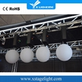 LED lifting ball dmx winch kinetic light system