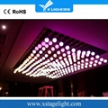 Event 2018 dmx winde rgb pixel led kinetic lighting