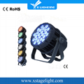 24*18W  LED Par  RGBWAP 6IN1 Waterproof
