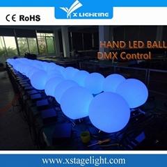Manufacturer full color stage dmx512 led ball